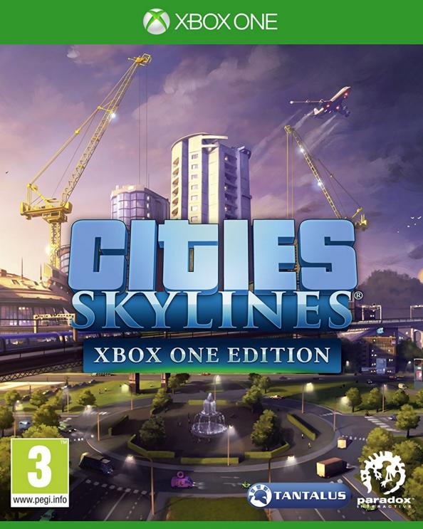 Retrouvez notre TEST :  Cities Skylines - Xbox One Editon - 16/20