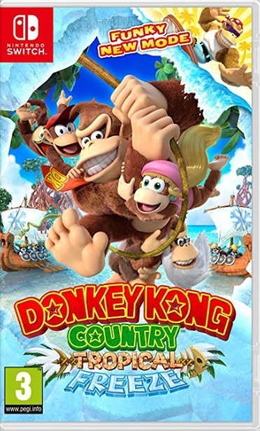 Retrouvez notre TEST : Donkey Kong Country :  Tropical Freeze - Switch  - 17/20