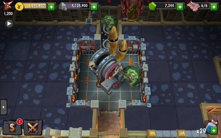 Illustration de l'article sur Dungeon Keeper est disponible sur mobile