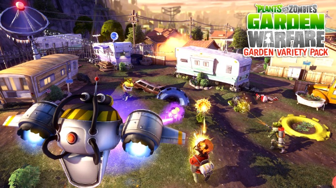 Illustration de l'article sur DLC Gratuit pour Plants vs. Zombies Garden Warfare