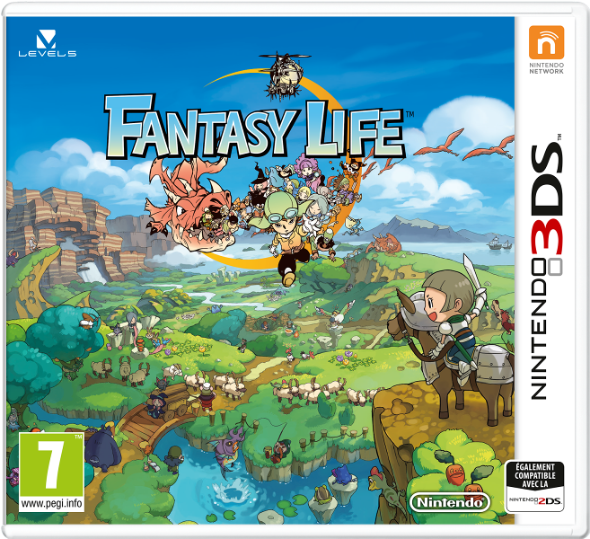 Illustration de l'article sur Fantasy Life arrive en septembre sur Nintendo 3DS