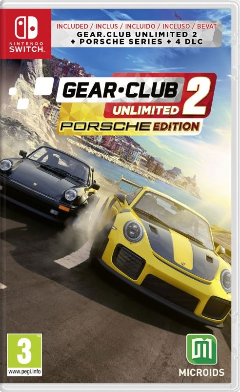 Retrouvez notre TEST : Gear.Club Unlimited 2 Porsche Edition - Nintendo SWITCH