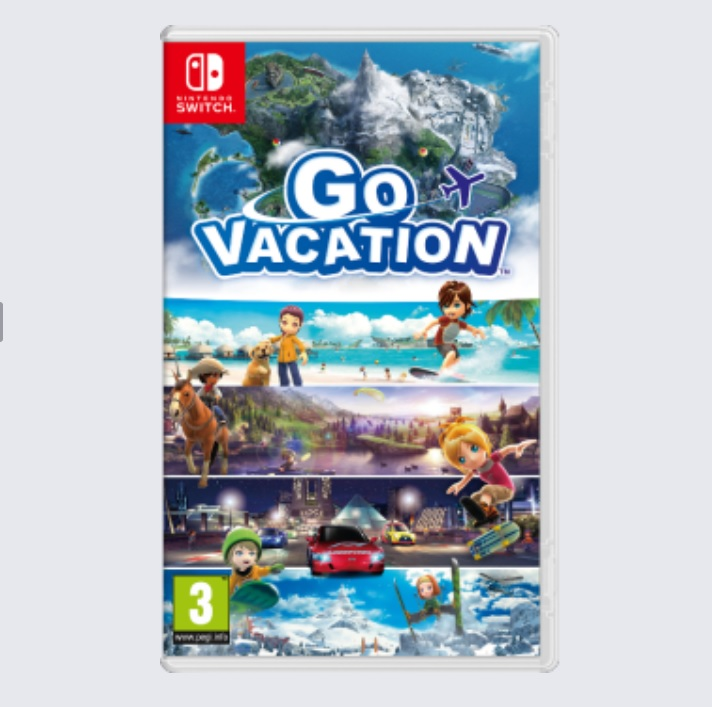 Illustration de l'article sur Go Vacation arrive sur Switch