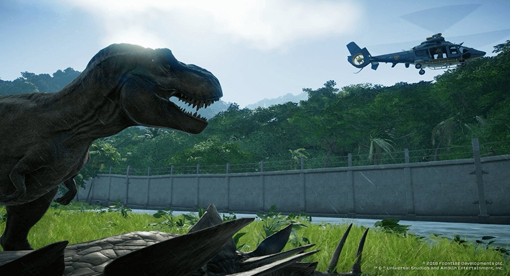 Illustration de l'article sur Jurassic World Evolution