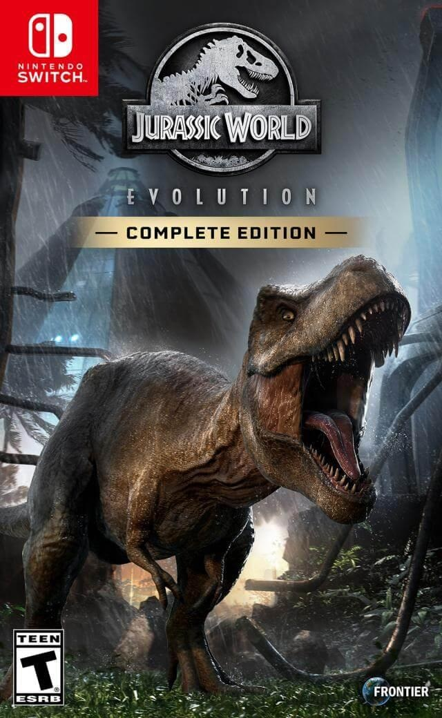 Retrouvez notre TEST : Jurassic World : Evolution Complete Edition - Nintendo Switch