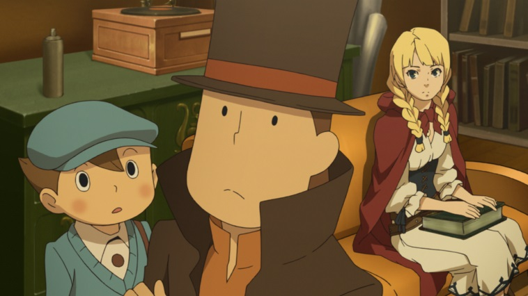 Illustration de l'article sur Professeur Layton vs Phoenix Wright: Ace Attorney