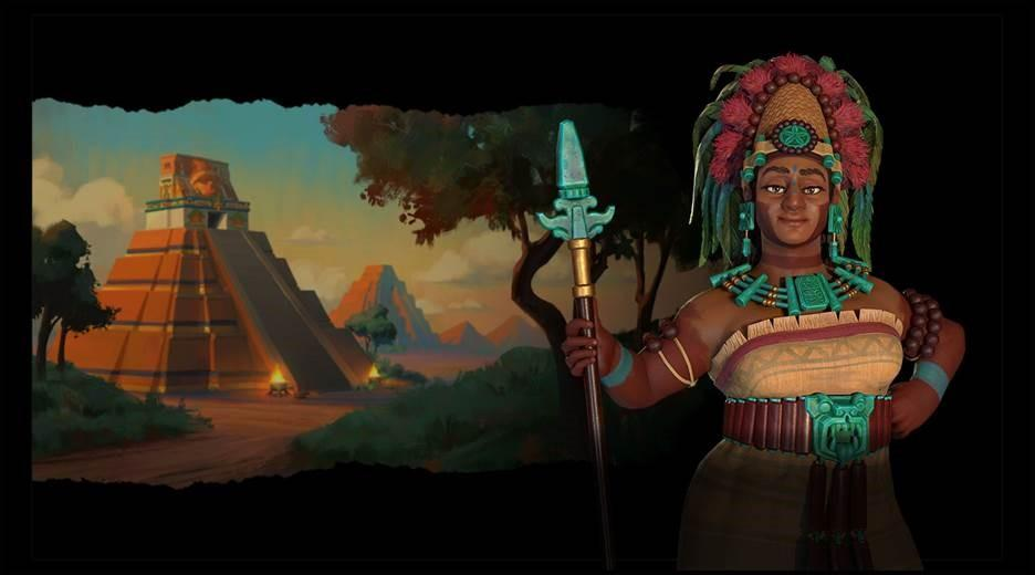 Illustration de l'article sur Civilization VI PassNew Frontier - DLC 1  Pack Maya