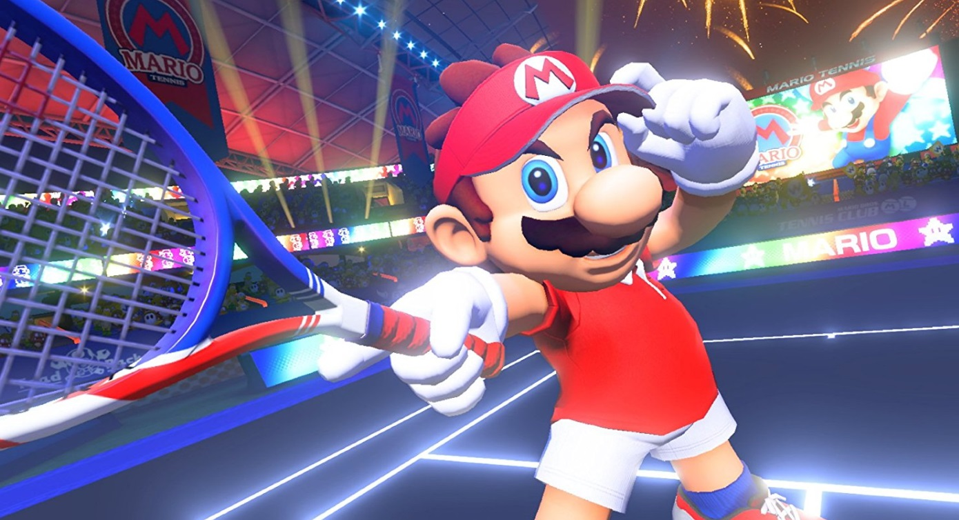 Illustration de l'article sur Mario Tennis Aces