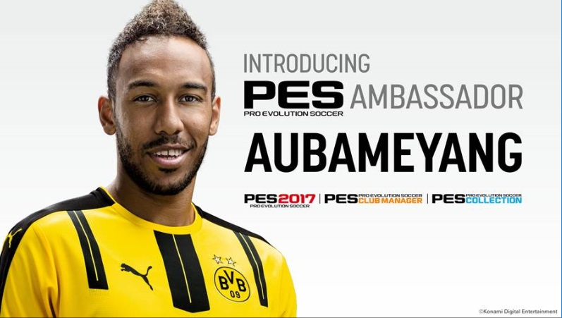 Illustration de l'article sur PES League 2017 : Aubameyang nommé ambassadeur