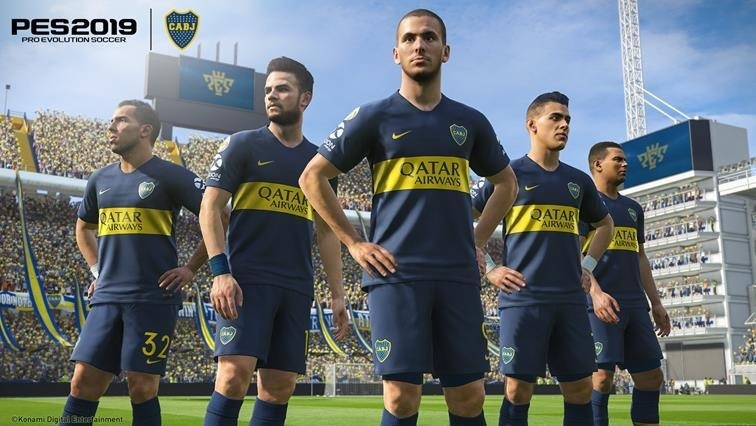 Illustration de l'article sur KONAMI obtient l'exclusivité du Club Atlético Boca Juniors