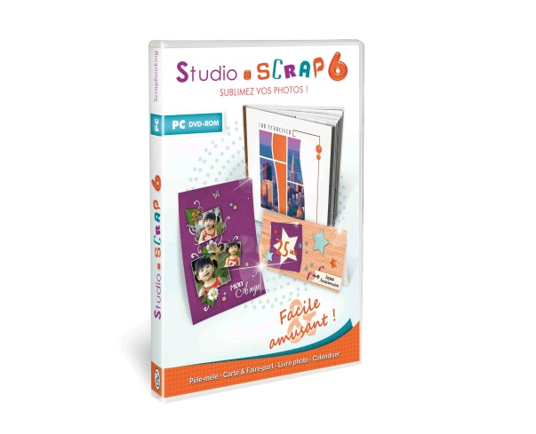 Illustration de l'article sur CDIP annonce Studio-Scrap 6, le logiciel de scrapbooking digital