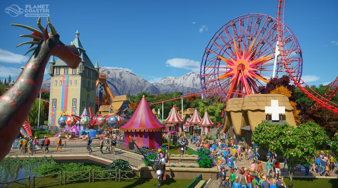 Illustration de l'article sur Planet Coaster Console Edition