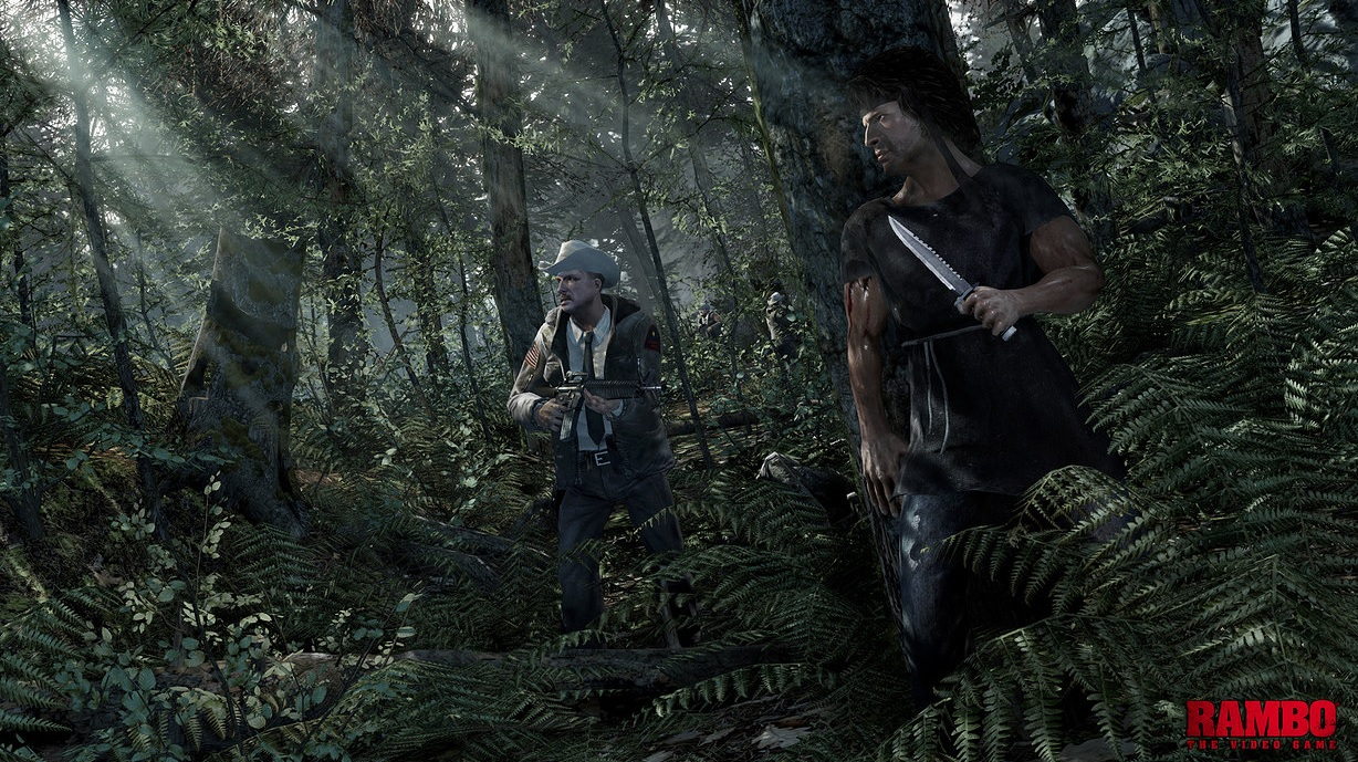 Illustration de l'article sur Rambo: The Video Game
