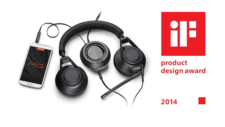 Illustration de l'article sur Plantronics remporte le Prix international du design IF 2014