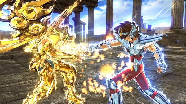 Illustration de l'article sur Saint Seiya Soldier's Soul