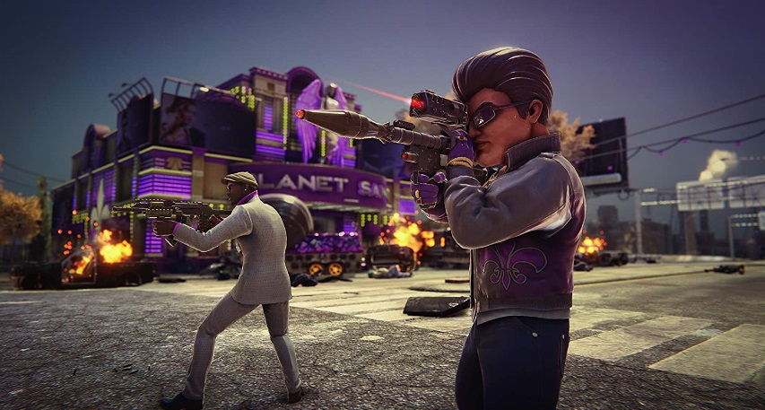 Illustration de l'article sur Saints Row The Third : Remastered