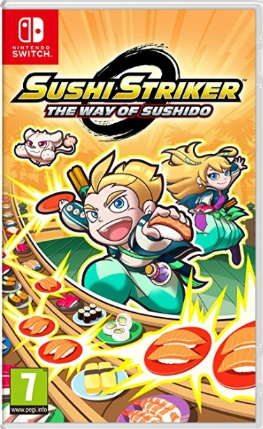 Retrouvez notre TEST :  Sushi Striker : The Way of Sushido  - Nintendo SWITCH