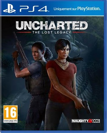 Retrouvez notre TEST : Uncharted : The Lost Legacy  - 18/20