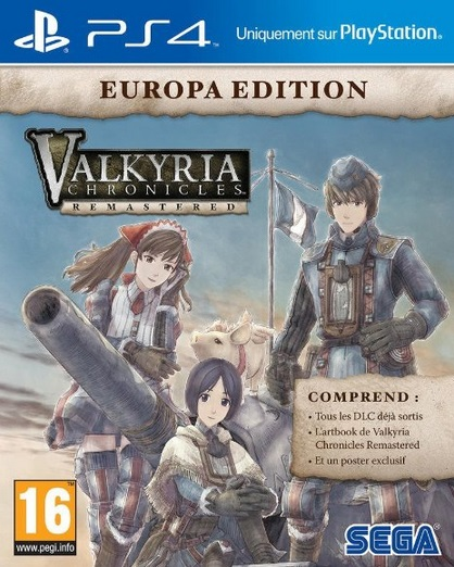 Retrouvez notre TEST : Valkyria Chronicles Remastered  - 17/20