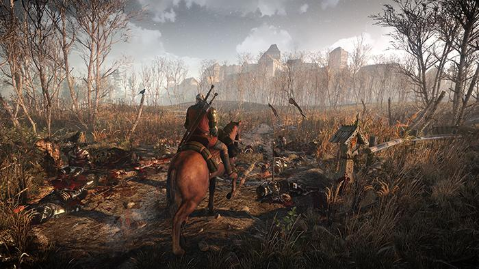 Illustration de l'article sur The Witcher 3 : Traque Sauvage nous offre un forum et 3 images