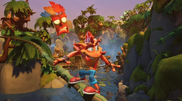 Illustration de l'article sur Crash Bandicoot 4 : It's AboutTime disponible aujourd'hui