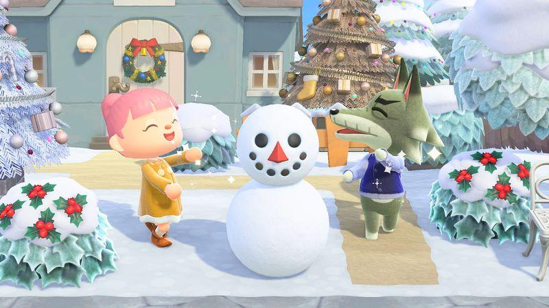 Illustration de l'article sur Animal Crossing: New Horizons : Mise à jour d'Hiver