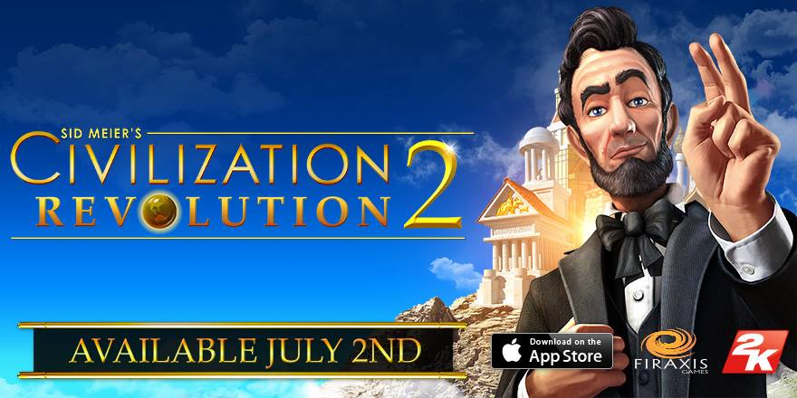 Illustration de l'article sur Sid Meier's Civilization Revolution 2 est disponible !