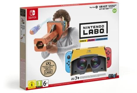 Illustration de l'article sur Nintendo annonce le kit VR de Nintendo Labo