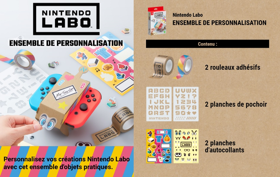 Illustration de l'article sur Nintendo Labo arrive en 2018