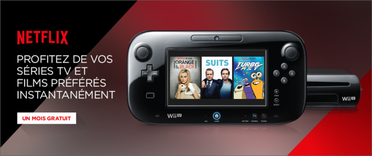 Illustration de l'article sur Wii U et Netflix