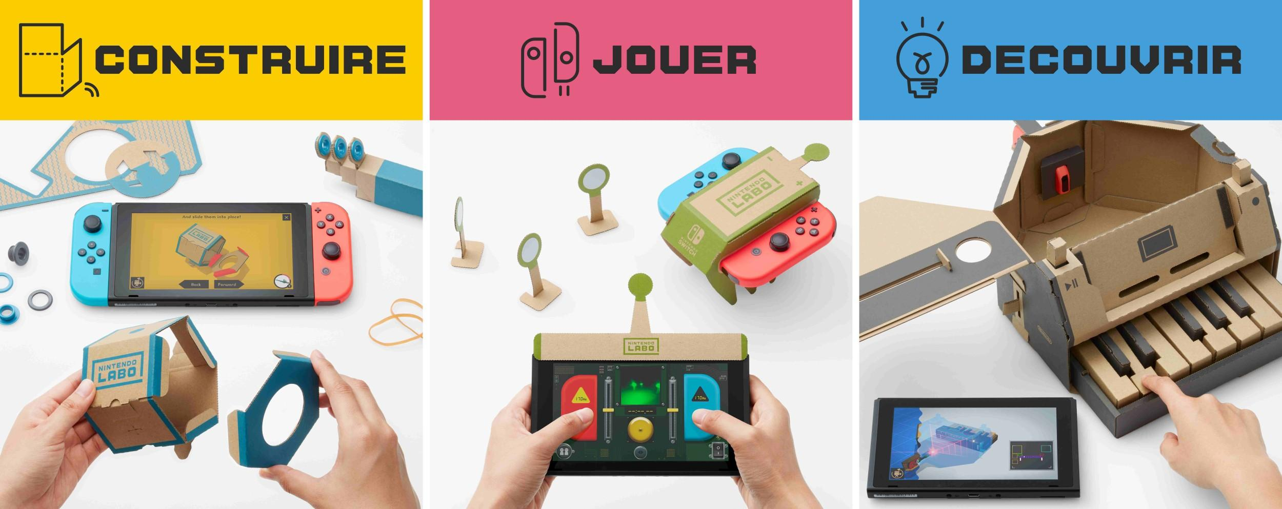 Illustration de l'article sur Atelier Toy-Con de Nintendo Labo