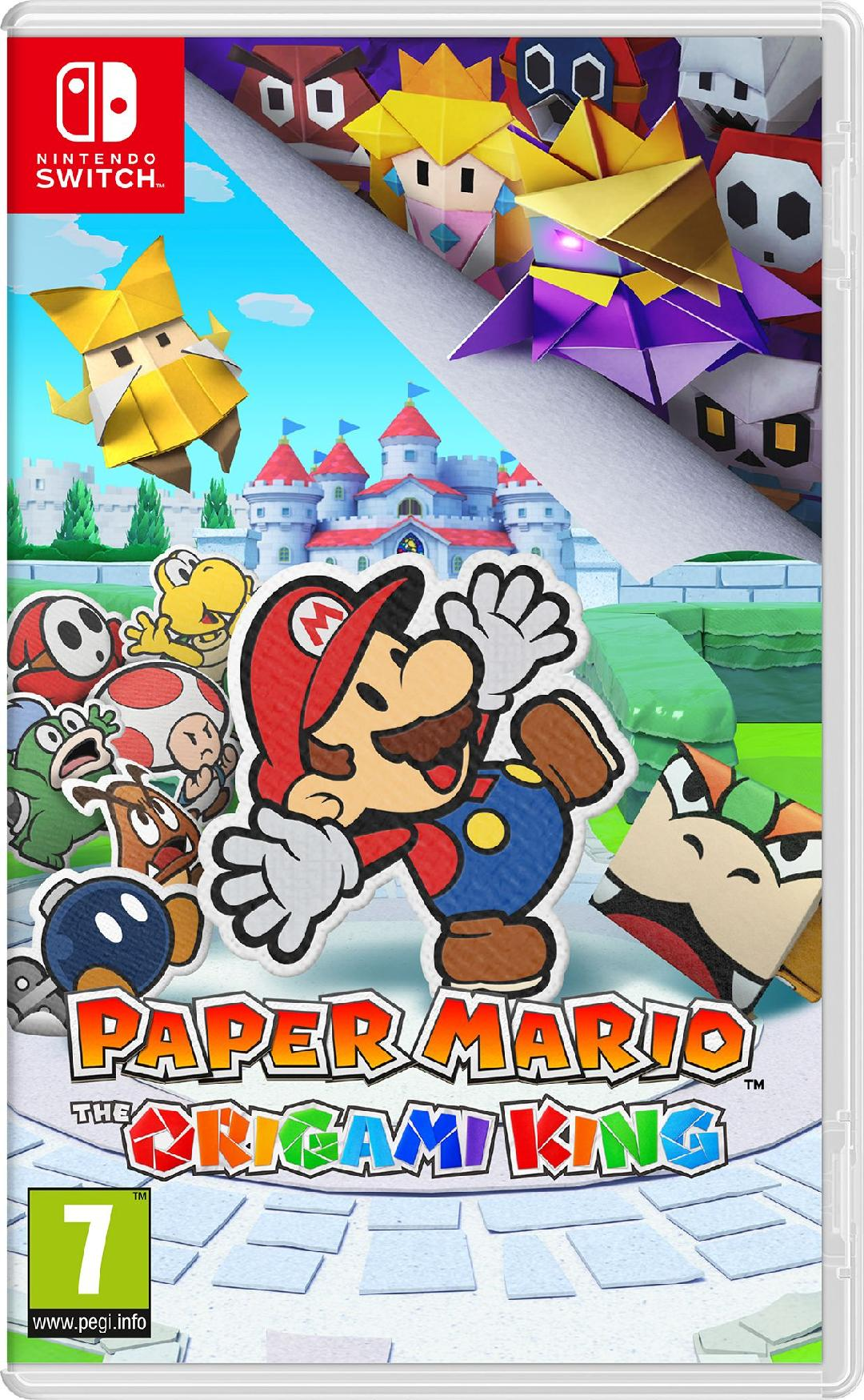 Illustration de l'article sur Paper Mario: The Origami Kingen approche sur SWITCH