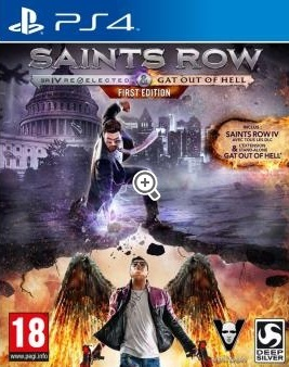 Retrouvez notre TEST : Saints Row IV : Re-Elected - Gat out of Hell  - 15/20