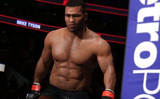 Illustration de l'article sur Mike Tyson arrive dans SPORTS UFC 2