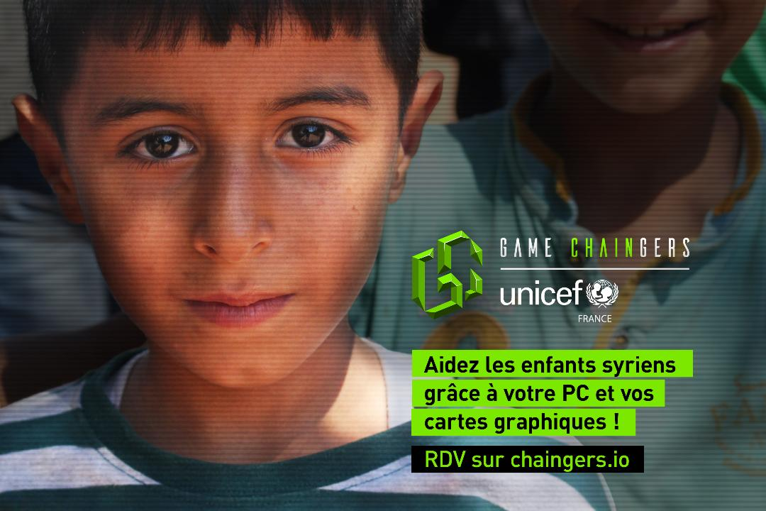 Illustration de l'article sur Unicef : Appel aux gamers du monde entier