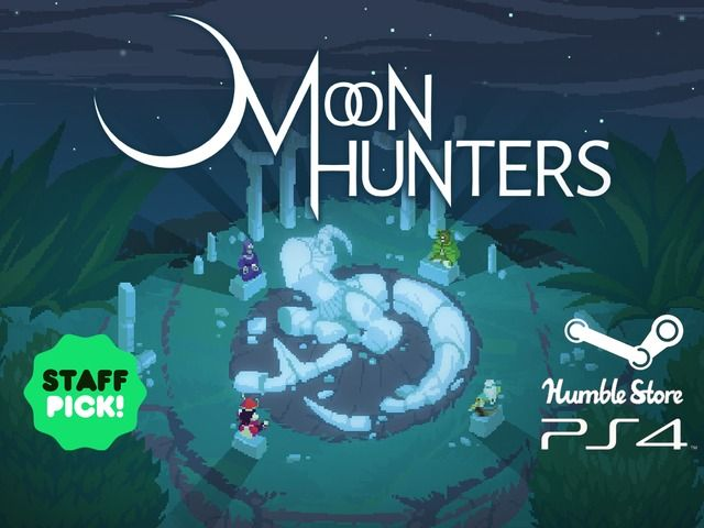 Illustration de l'article sur Campagne Kickstarter pour MOON HUNTERS