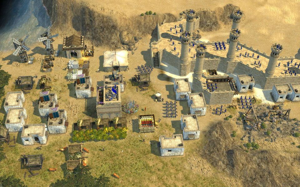 Illustration de l'article sur Un patch correctif pour Stronghold Crusader 2