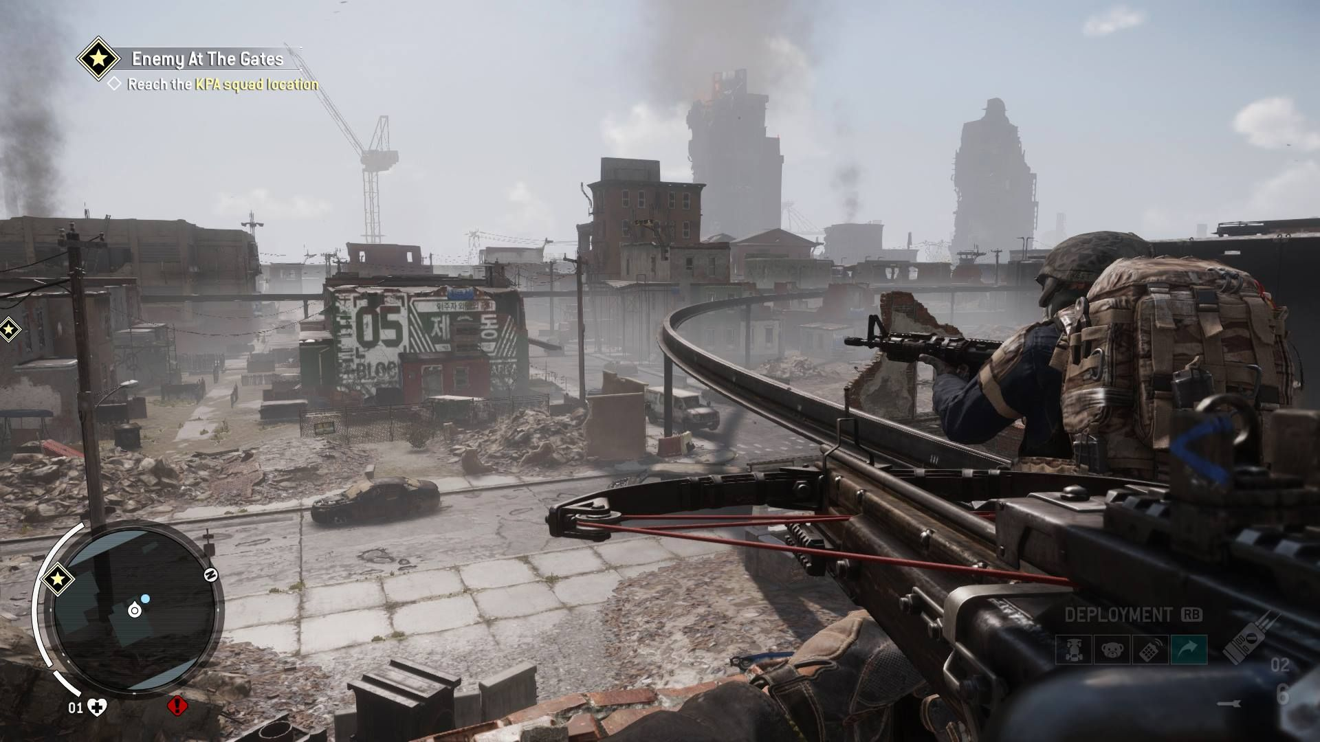Illustration de l'article sur Plus d'infos sur le FPS  Homefront: The Revolution