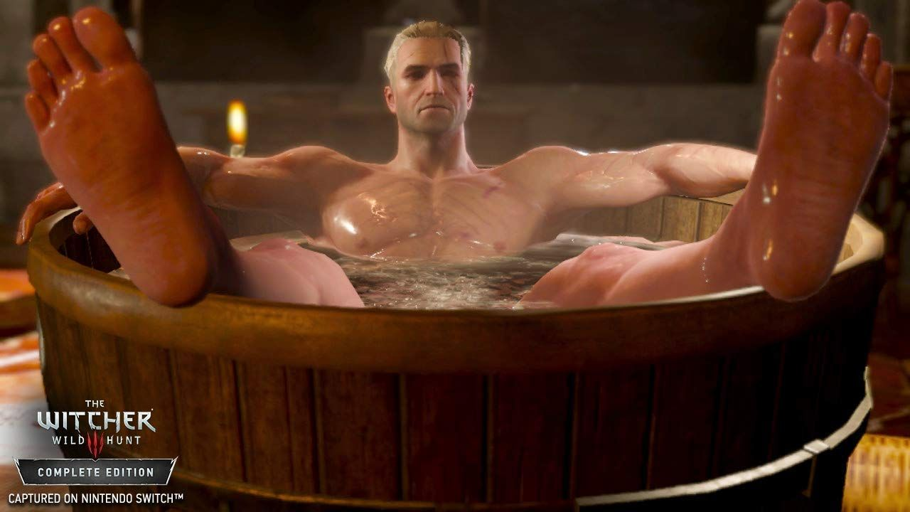 Illustration de l'article sur The Witcher 3: Wild HuntComplete Edition Switch