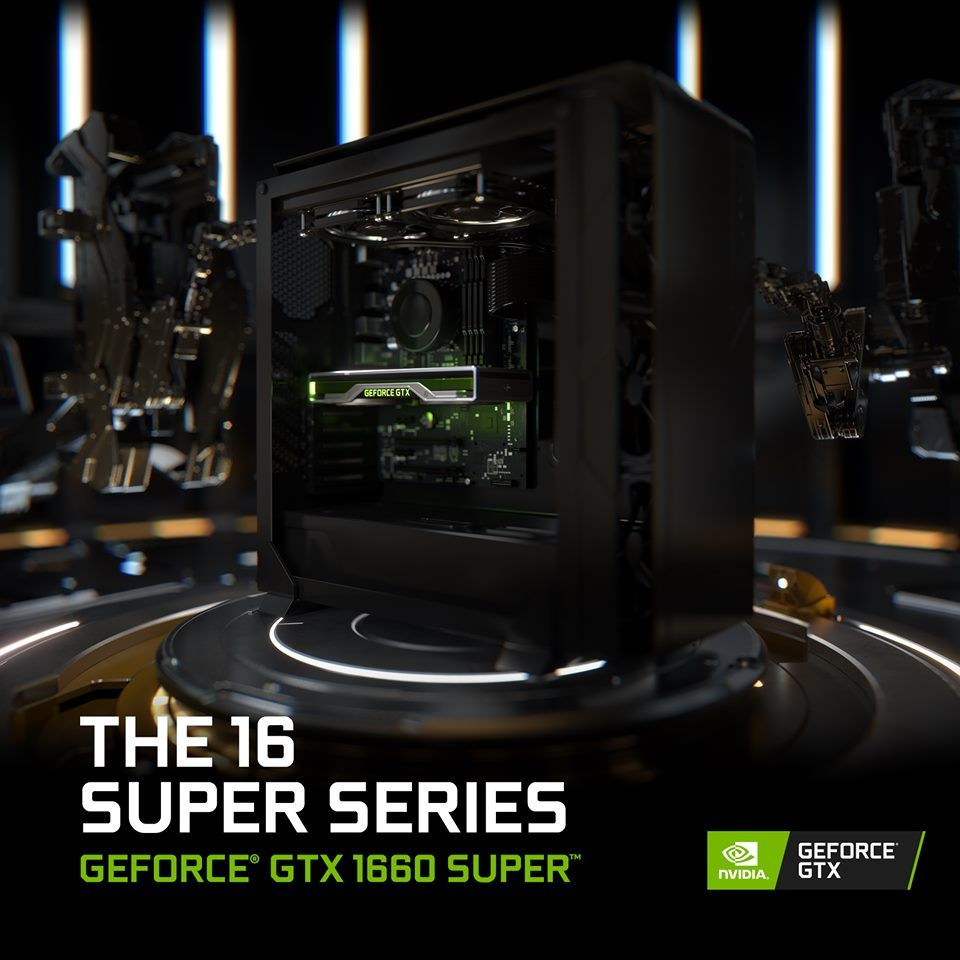 Illustration de l'article sur NVIDIA annonce laGeForce GTX 1660 SUPER