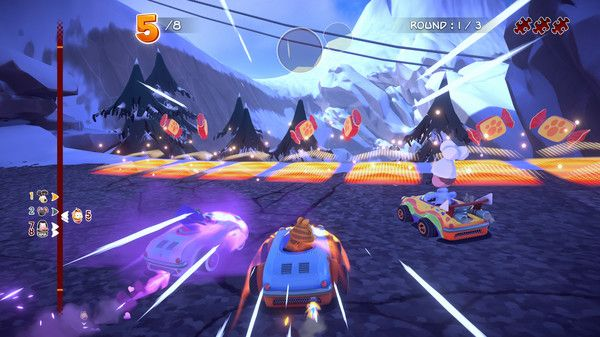 Illustration de l'article sur Garfield Kart FuriousRacing est disponible