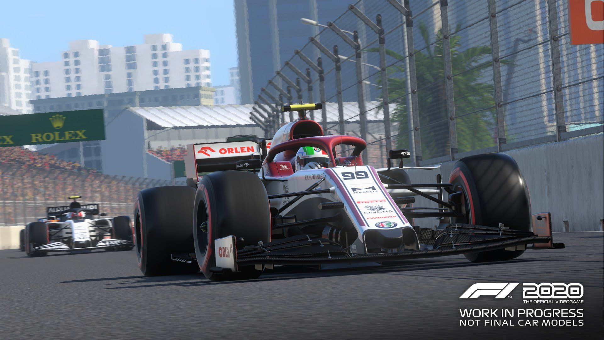 Illustration de l'article sur F1 2020 en approche