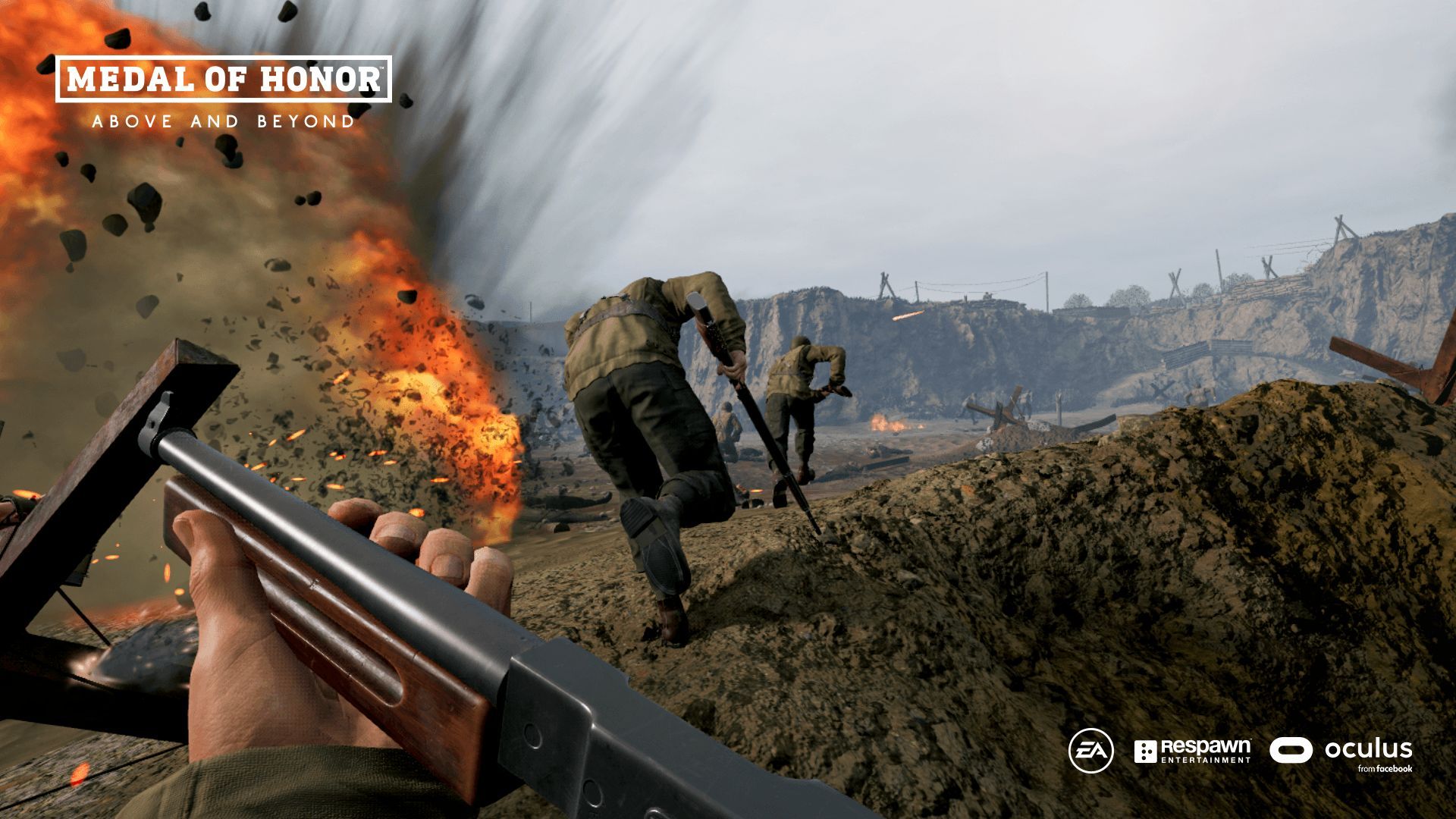 Illustration de l'article sur Medal of Honor: Aboveand Beyond en réalité virtuelle