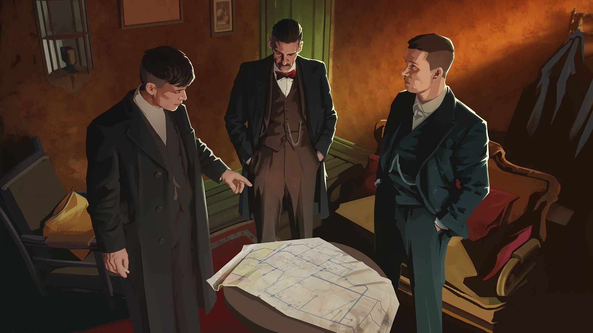 Illustration de l'article sur Peaky Blinders: Mastermindarrive en décembre