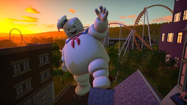 Illustration de l'article sur Planet Coaster : Ghostbusterset Studios Pack
